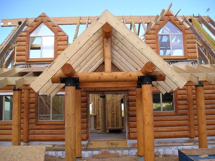 17 best ideas about log homes kits on pinterest log for Panelized kit homes