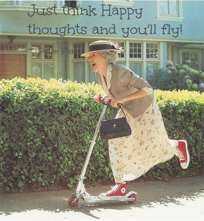 This will so be me as an old lady! Hahaaa!