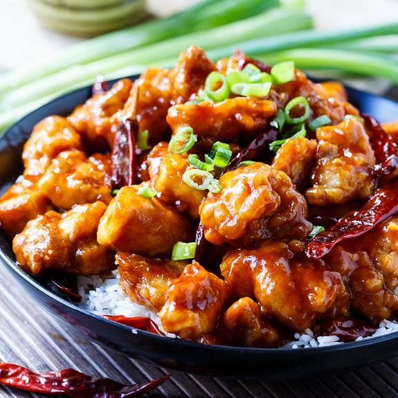 General Tso's Chicken. Much better than take out!