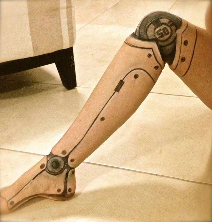 Robot leg part 2