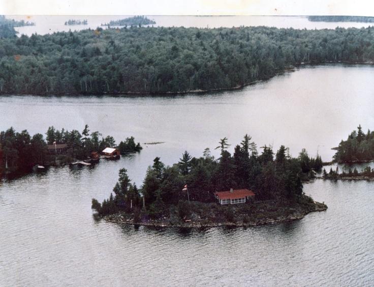 Lake Penage, Ontario Canada