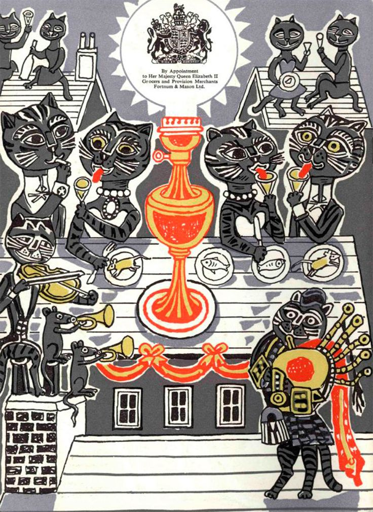 Edward Bawden at Christmas | All things considered.