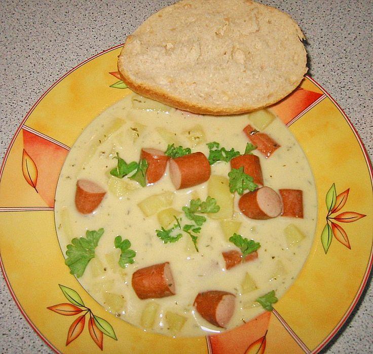 Die besten 25+ Kartoffel käse suppen Ideen auf Pinterest - käse lauch suppe chefkoch