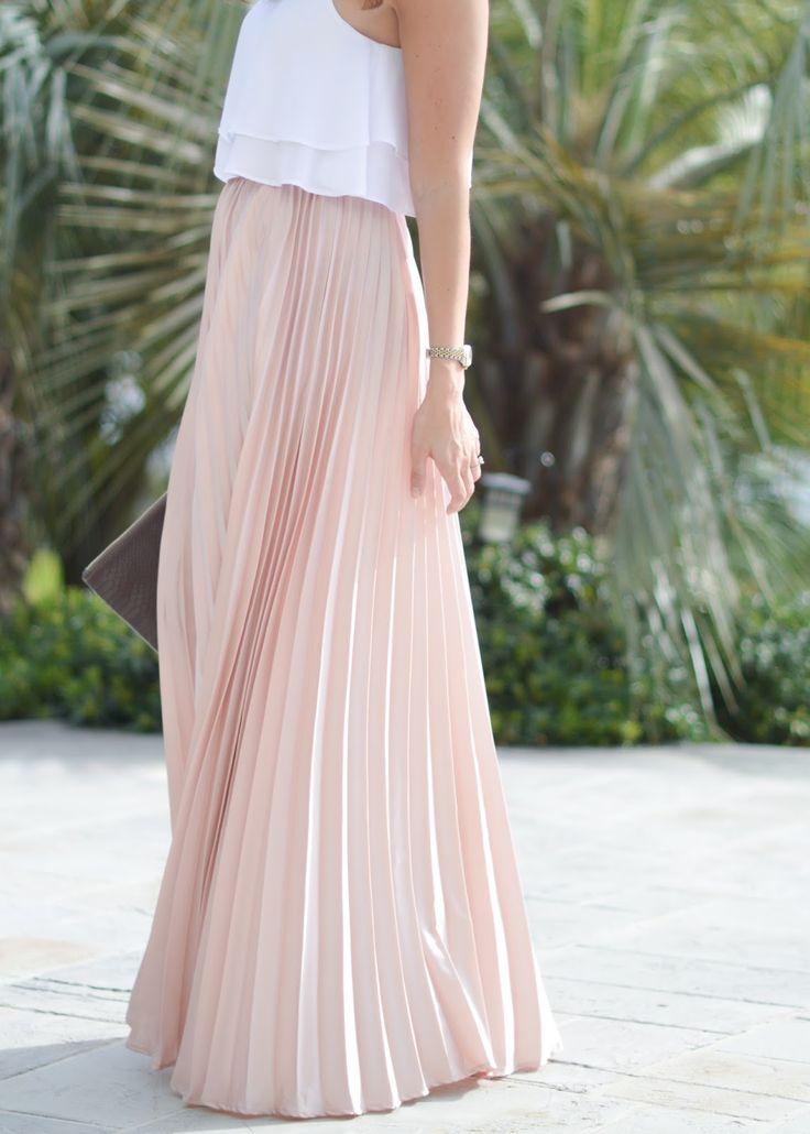 The 25  best Skirt crop top ideas on Pinterest | Long skirt ...