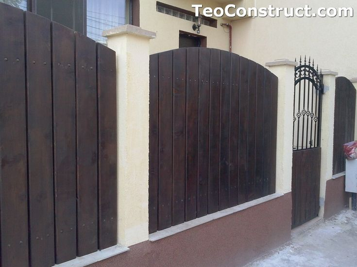 Garduri din lemn Oradea 15