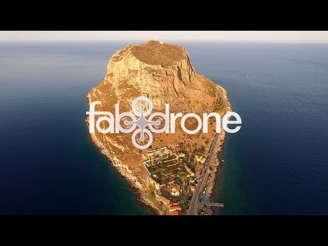 Monemvasia medieval town and fortress – Drone Travel