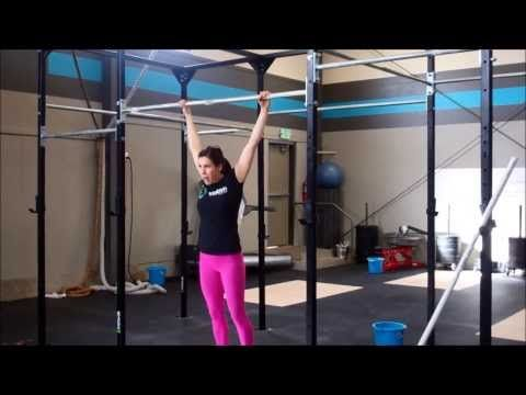 CrossFit - Butterfly Pull Ups Progression - YouTube