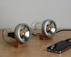 Mason Jar speakers for Max -- LOL.  Thanks, @Charla Strosser