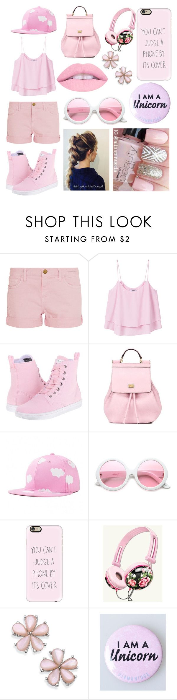 """14"" by cristina-vanau on Polyvore featuring Current/Elliott, MANGO, Dr. Martens, Dolce&Gabbana, ZeroUV and Casetify"