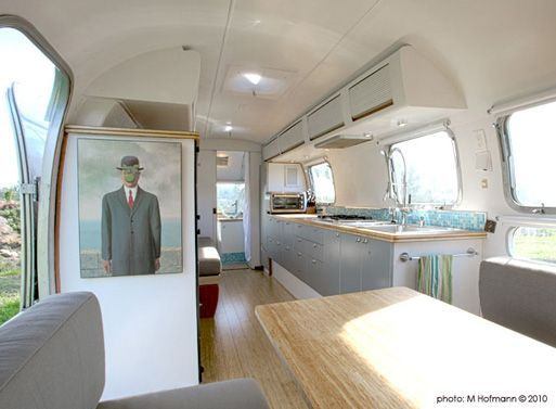 love a great airstream remodel!