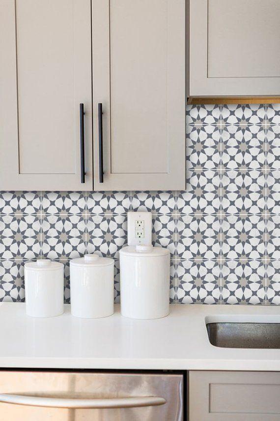 Tile Decals Tiles For Kitchen Bathroom Back Splash Floor Etsy Tile Decals Bathroom Splashback Kitchen