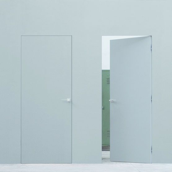 Les 17 meilleures id es de la cat gorie porte invisible sur pinterest porte - Charniere invisible porte interieure ...