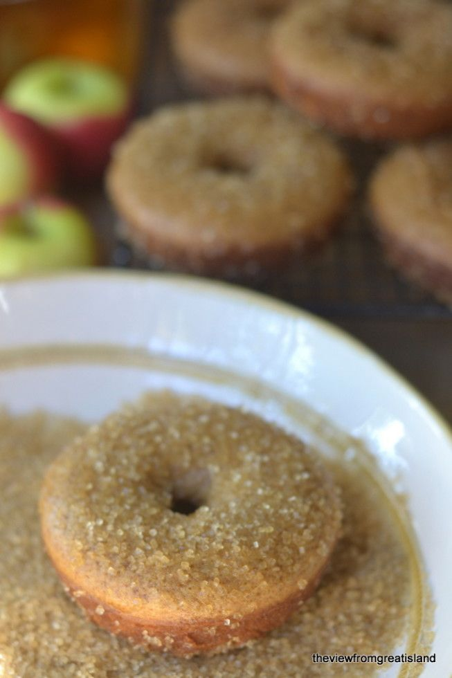 Cider Spiced Doughnuts | Recipe