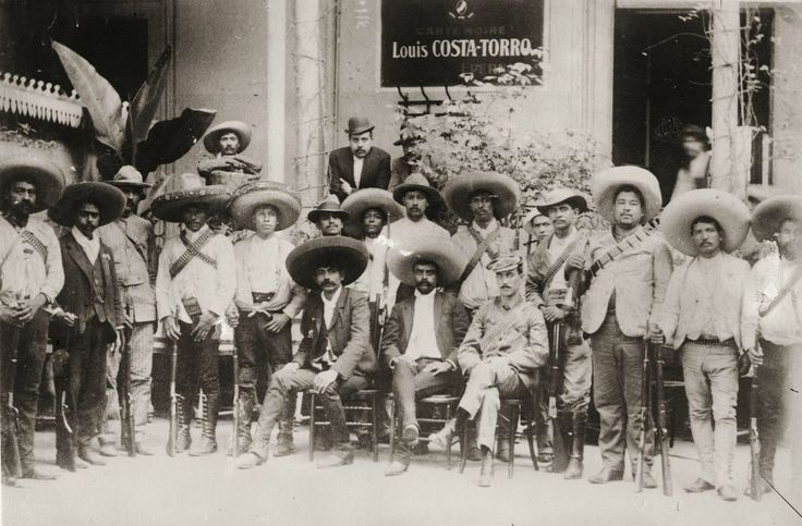Emiliano Zapata Salazar and his men, between 1910 and 1915 HistoryNet : Photo