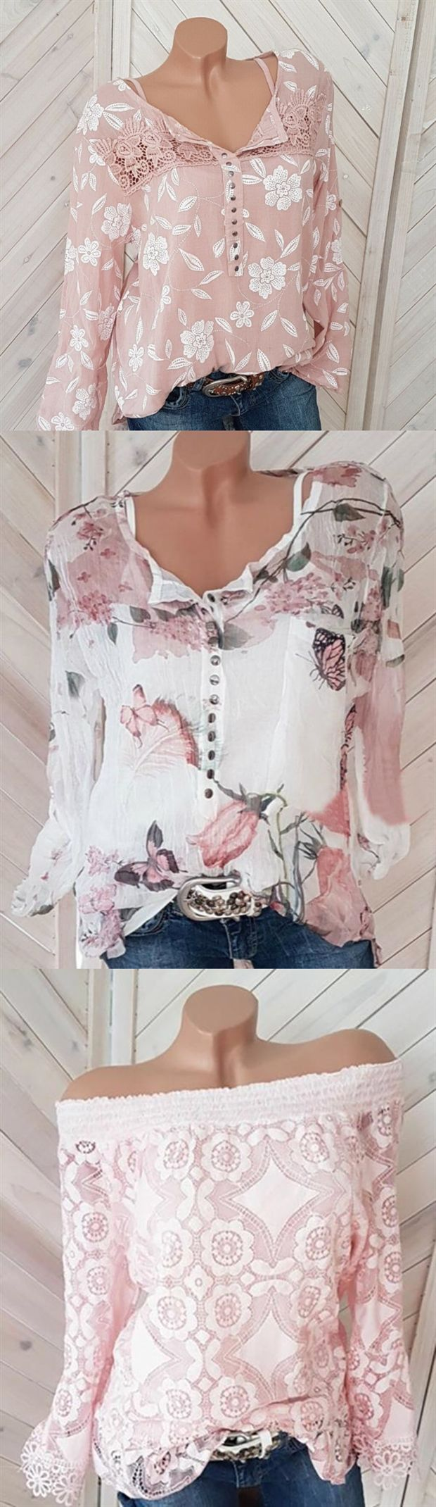 Hot Selling ! 100+ Fashion Spring Long Sleeve Blouses & Shirts❤ Buy More and Save More >> SHOP NOW 1