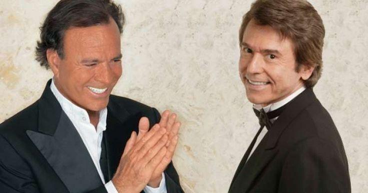 Raphael y Julio Iglesias de la prohibición a concierto masivo en Cuba