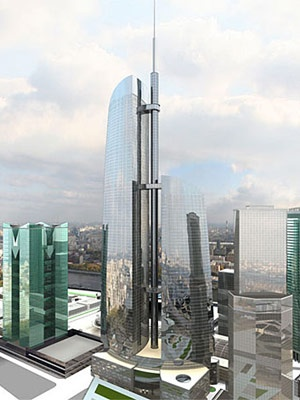 Federation Tower, Moscow, 360 meters