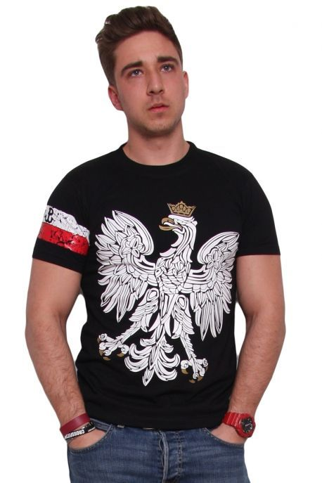 Męski t-shirt, odzież patriotyczna