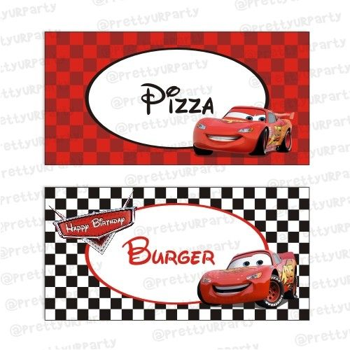 disney cars party printables free - Pesquisa Google