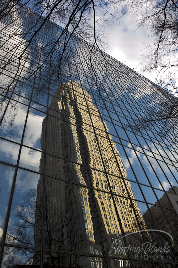 Uptown reflection