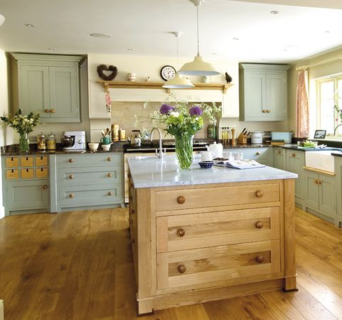 Duck egg blue might just be my favourite colour and it for Grey and duck egg blue kitchen
