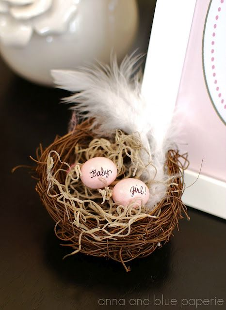 birds of a feather baby shower theme. great for boy or girl xo