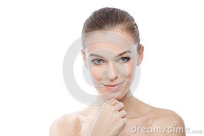 Look 1 : Neutraal met een subtiele glimlach (met met VR bril op)