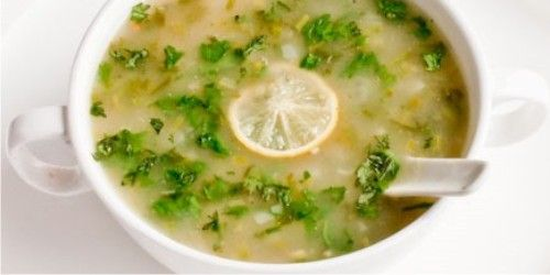A heartwarming tasty and healthy  Lemon Coriander Soup...
