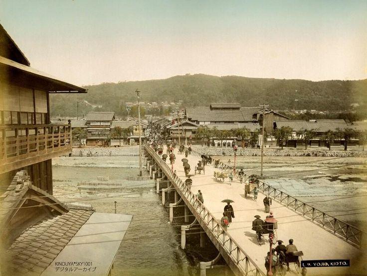 明治時代の京都。
