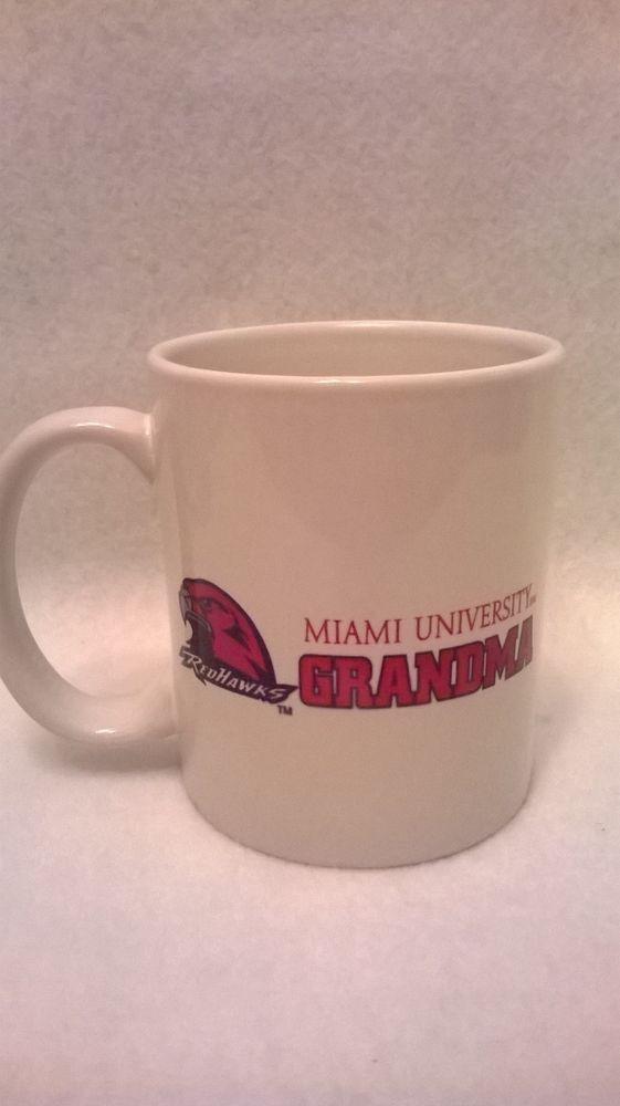 Red Hawks Miami University Grandma Coffee Tea Mug Cup