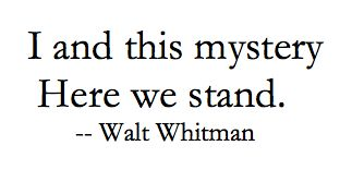 Quote Walt Whitman, Leaves of Grass