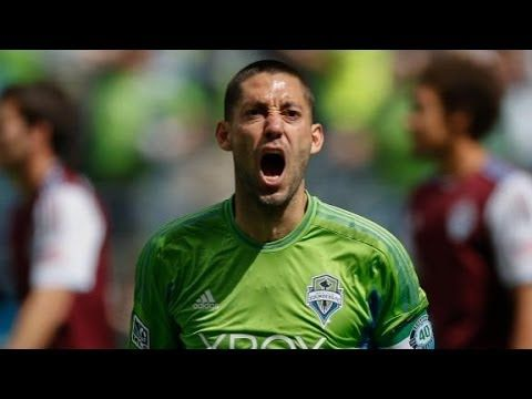 Clint Dempsey ... ESPN Soccer Club  ps. Look up Cristiano Ronaldo (the story)