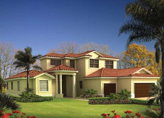 1000 images about spanish mediterranean home plans on for Single story spanish style homes