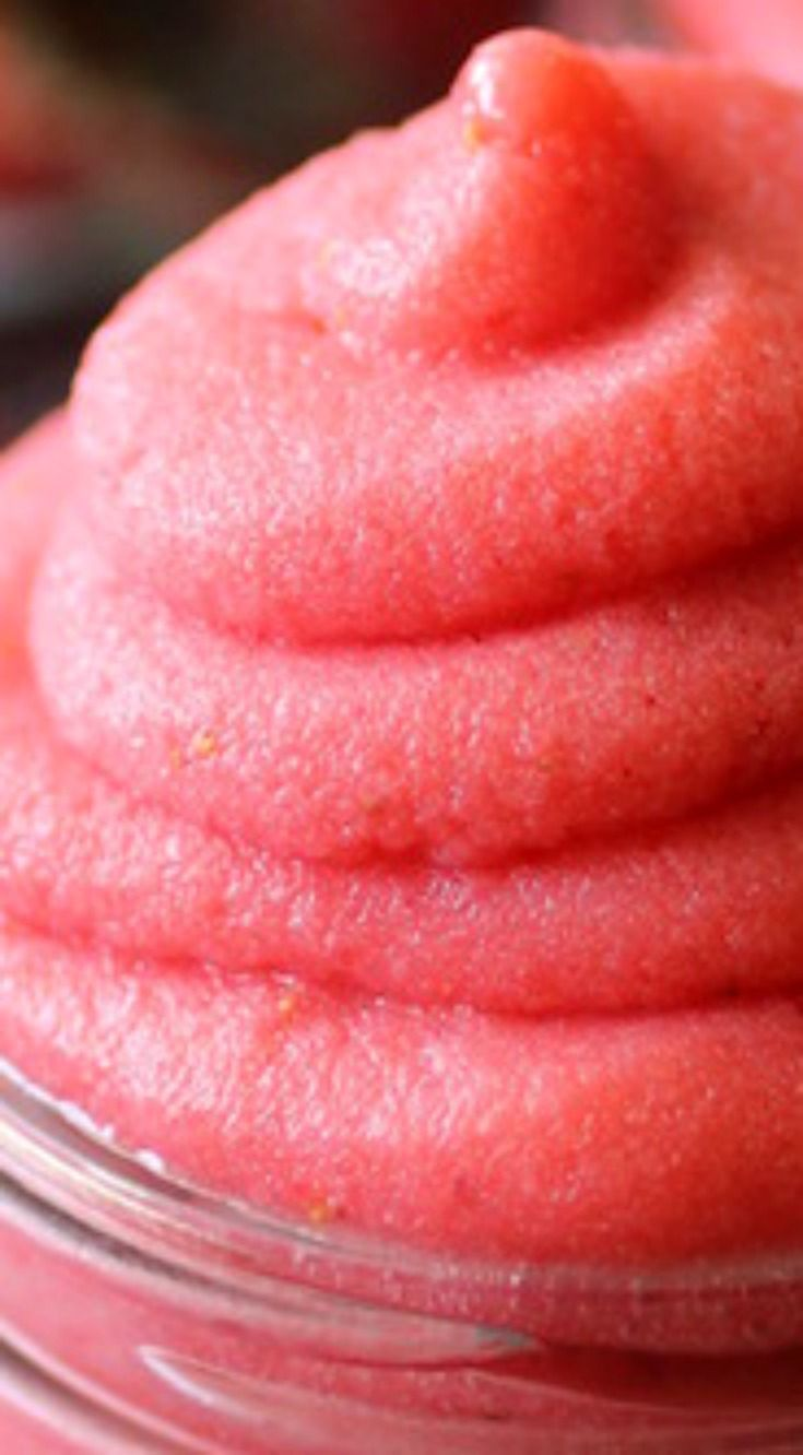 Clean Eating Strawberry Dole Whip ~ Delicious... With just a few simple and healthy ingredients!