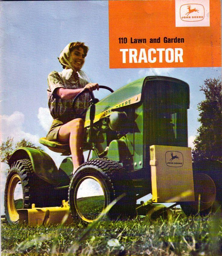 1964 John Deere Garden Tractor Sales Literature