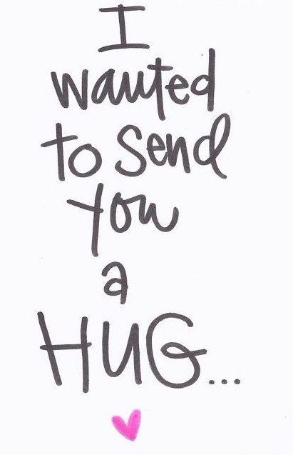 Van mij voor jou !! Ik zou je graag in t echt een knuffel geven ... ik mis je .. .... ik wens je een fijne avond samen ... geniet van een hopelijk rustige avond ...