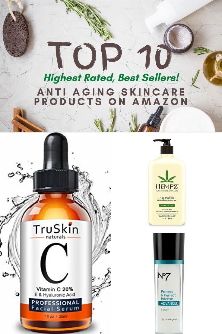 Top 10 Anti Aging Products On Amazon In 2020 Top 10 Anti Aging Products Aging Skin Care Skin Care Wrinkles