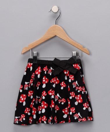 mushroom skirt by SOOKIbaby
