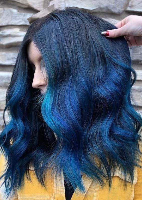 Fantastic Blue Hair Color Ideas Shades For Women 2019 Hair