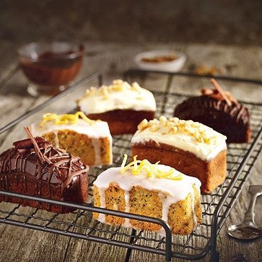 A Lakeland recipe for Mini Lemon Drizzle Cakes, happy cooking!