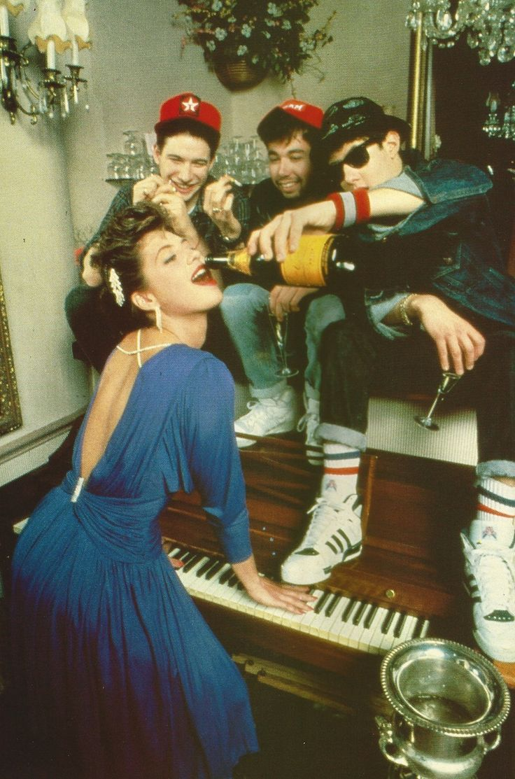 Madonna (with The Beastie Boys) #inspiration #crémaillère #bonjourbibiche
