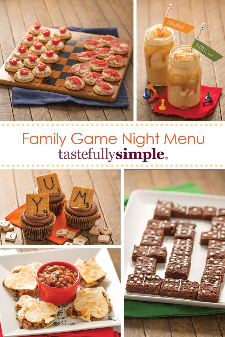 Casino night recipes
