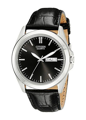 Citizen Men's BF0580-06E Stainless Steel Watch With Black Leather Band https://www.carrywatches.com/product/citizen-mens-bf0580-06e-stainless-steel-watch-with-black-leather-band/ Citizen Men's BF0580-06E Stainless Steel Watch With Black Leather Band