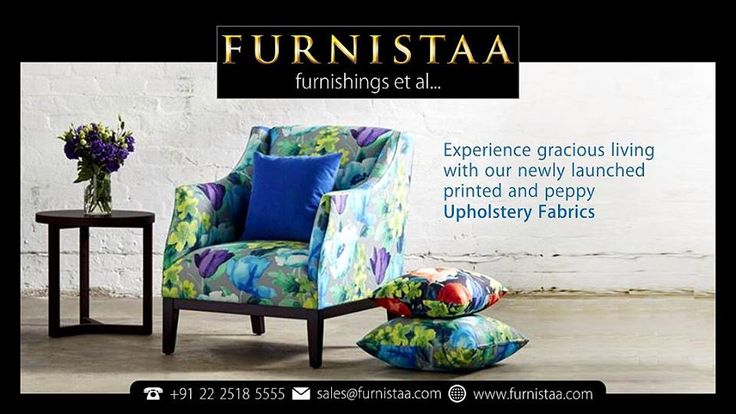 Printed and peppy Upholstery Fabrics :: Furnitaa