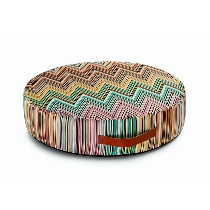 Missoni Home - Kew Round Floor Cushion - 70x16h cm