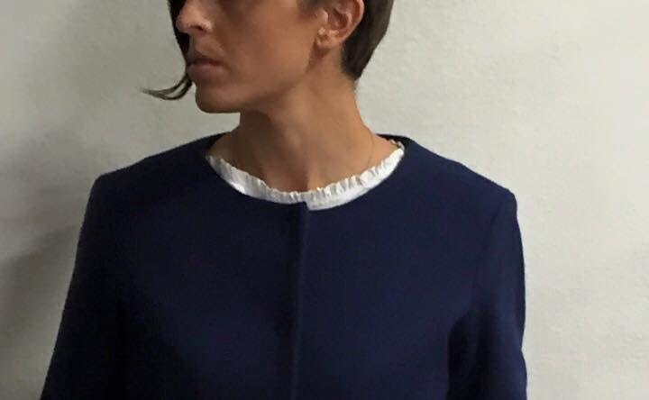 Cappotto Paola lana bluetterialto48 A.I.2015/16