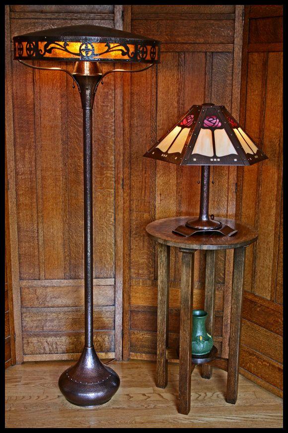 Evergreen studios · copper lightingart deco lightingantique