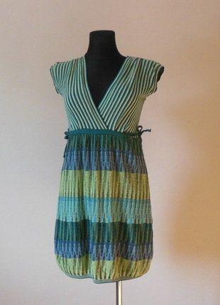 Kup mój przedmiot na #vintedpl http://www.vinted.pl/damska-odziez/krotkie-sukienki/16848453-taviani-sukienka-zielona-36-38
