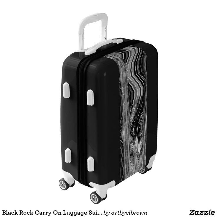 Want your luggage to stand out on the conveyor belt? It will do just that with the Black Rock Carry On Luggage Suitcase designed by Artist C.L. Brown which features an abstract kinetic light painting design enhanced with Photoshop. Fully lined interior contains multiple mesh & sealed pockets for improved packing as well as a lid compartment & compression straps for securing & organizing packed items. Available in three base colors, you can customize aspects of the luggage from the color of…