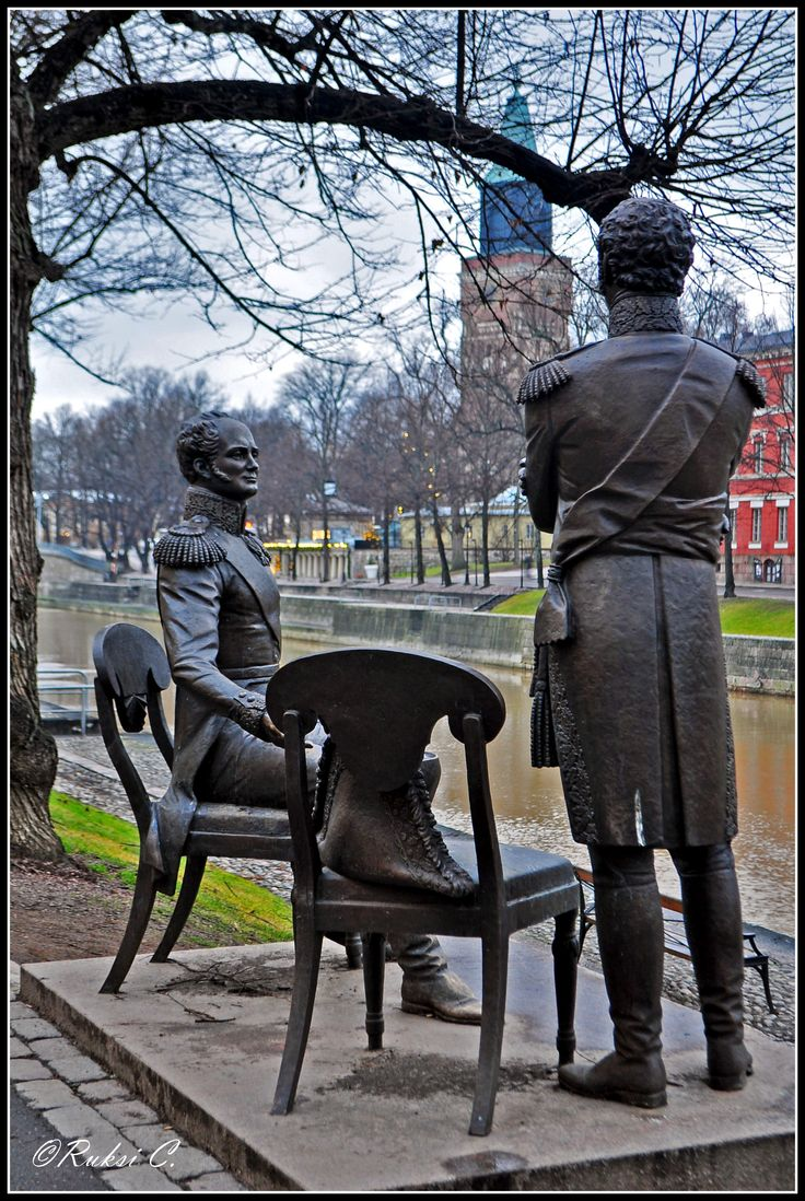 Watching upon Turku, Tsar Alexander and King of Sweeden, Turku, Finland Copyright: Ruxandra Canarache